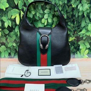 Gucci Dionysus Small Web-Stripe 2 Way Hobo